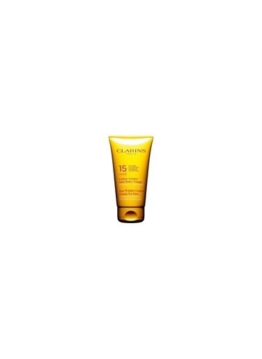 Clarins Clarins Sun Wrinkle Control Cream Spf 15 Yüz Için Güneş Koruma Kremi 75 Ml Renksiz